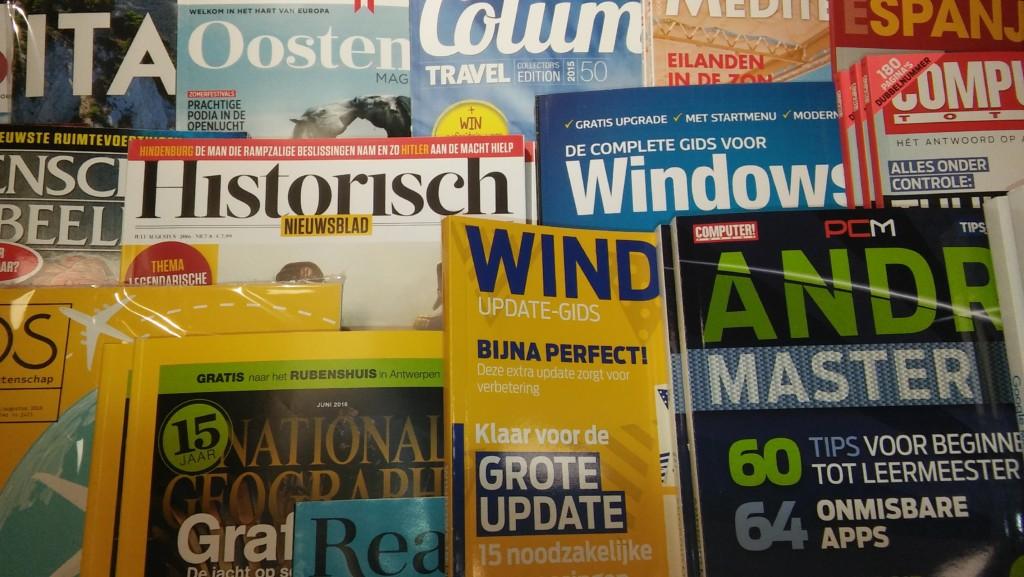 Tijdschriften kopen in Soesterberg