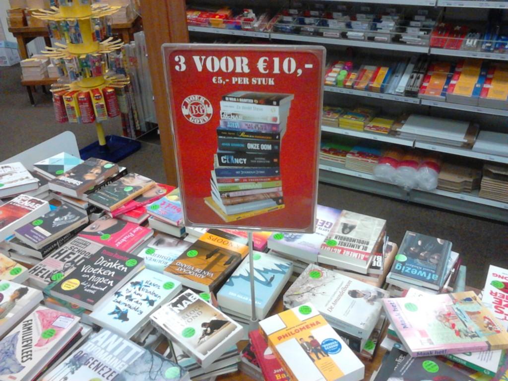 Boekenvoordeel bij de Cornershop Soesterberg