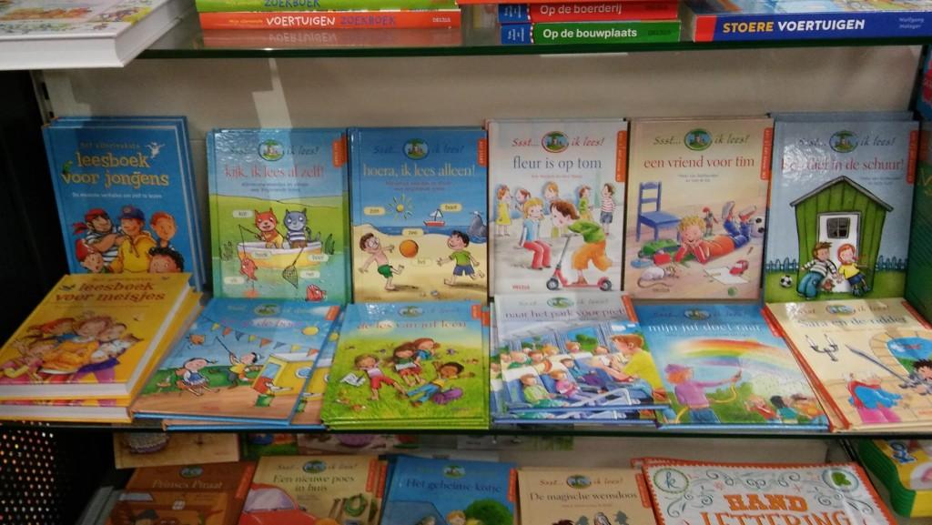 Deltas kinderboeken bij de Cornershop