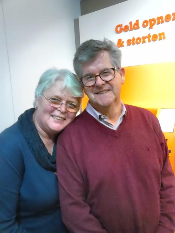Hubert en Gerda bij de Cornershop Soesterberg