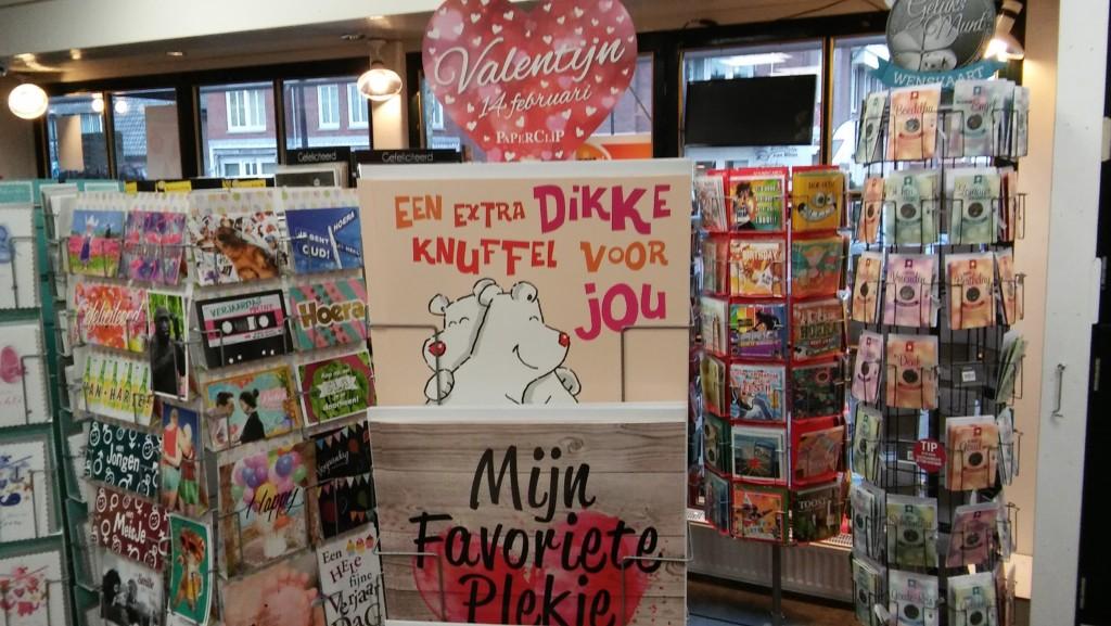 Valentijnskaarten en valentijnscadeautjes bij de Cornershop Soesterberg