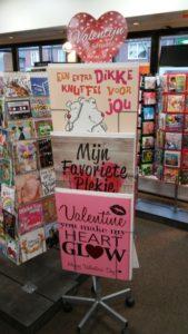 Valentijnskaarten bij de Cornershop Soesterberg