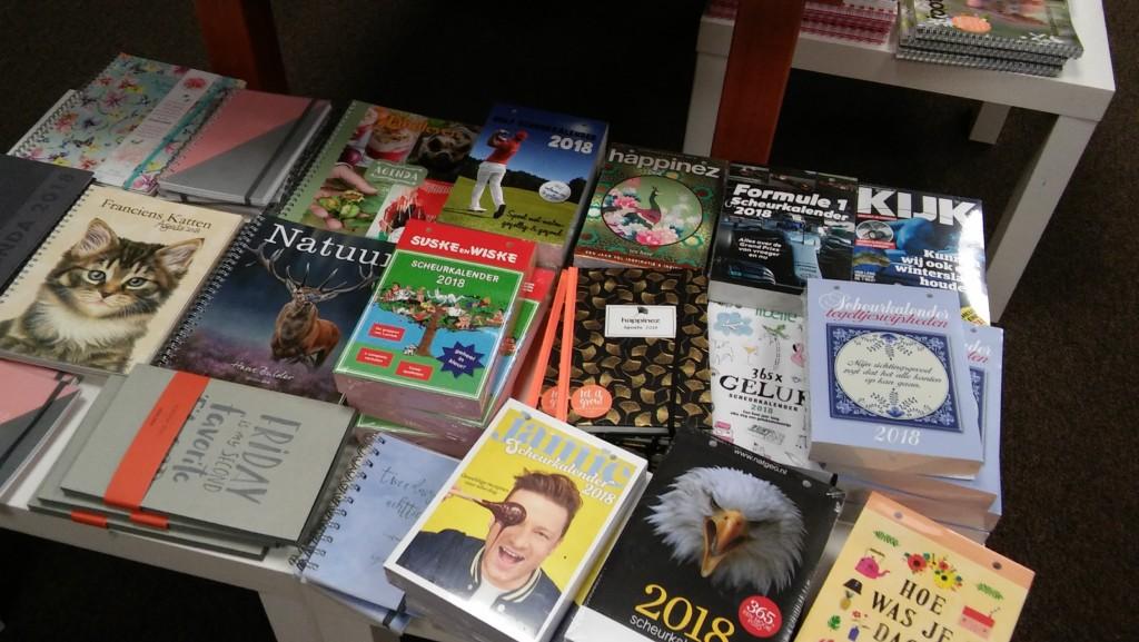 Kalenders 2018 bij Cornershop Soesterberg