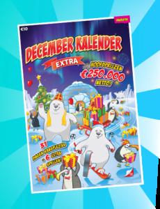 Decemberkalender van €10,-