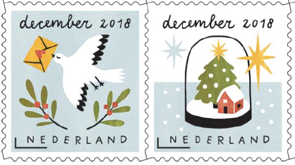Decemberzegels2019 bij de Cornershop