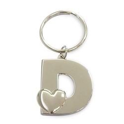 Luxe sleutelhanger met initialen als cadeau