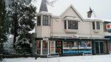 Cornershop Soesterberg in de sneeuw