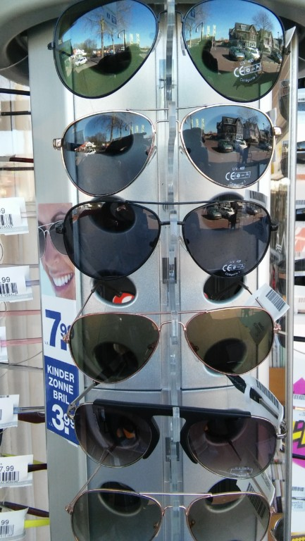Zonnebrillen bij de Cornershop Soesterberg