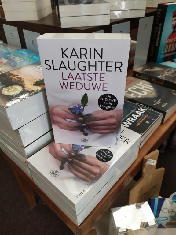 Nieuwste Karin Slaughter bij de Cornershop Soesterberg
